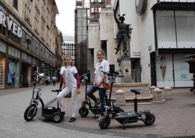 4 Scooter Budapest