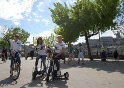 Bikes3 Scooter Budapest